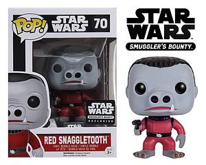 Pop! Star Wars Vinyl Bobble-Head Red Snaggletooth #70 Smuggler's Bounty Exclusive (Sale)