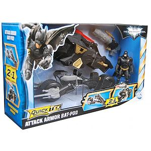 Mattel Quicktek The Dark Knight Rises Movie: Attack Armor Batpod