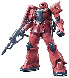 Gundam High Grade The Origin 1/144 Scale Model Kit: #013 MS-05S Zaku I (Char Aznable)