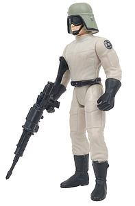 "Star Wars The Power of the Force 3.75"" Action Figure AT-ST Driver with Blaster Rifle and Pistol"