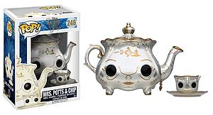 Pop! Disney Beauty & the Beast (2017) Vinyl Figure Mrs. Potts & Chip #246 (Vaulted)
