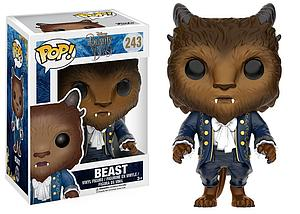 Pop! Disney Beauty & the Beast (2017) Vinyl Figure Beast #243 (Vaulted)