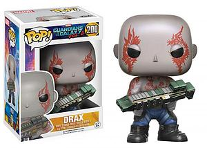 Pop! Marvel Guardians of the Galaxy 2 Vinyl Bobble-Head Drax #200