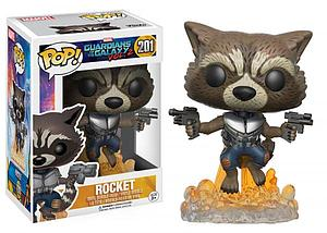 Pop! Marvel Guardians of the Galaxy Vol. 2 Vinyl Bobble-Head Rocket (Jet Pack) #201