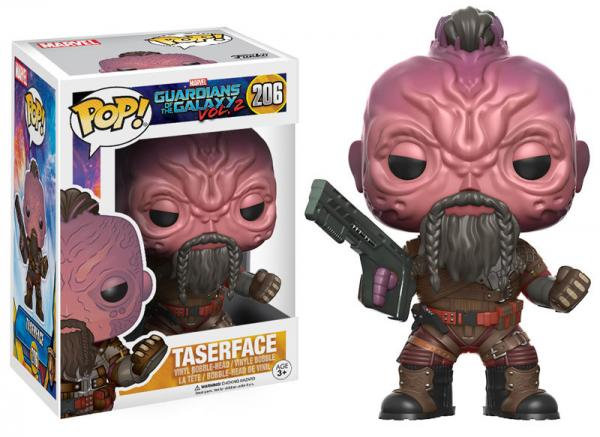 Pop! Marvel Guardians of the Galaxy 2 Vinyl Bobble-Head Taserface #206