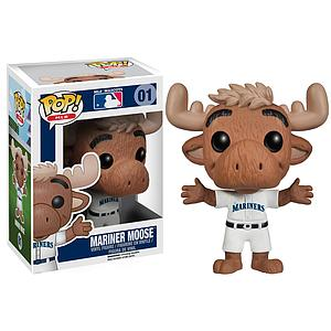 Pop! Baseball MLB Mascots Vinyl Figure Mariner Moose (Seattle Mariners) #01 (Vaulted)