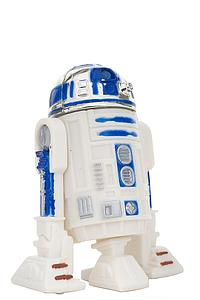 "Star Wars The Power of the Force 3.75"" Action Figure R2-D2 with Light-Pipe Eye Port and Retractable Leg (Bilingual Package)"