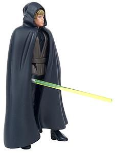 "Star Wars The Power of the Force 3.75"" Action Figure Jedi Knight Luke Skywalker with Lightsaber and Removable Cloak (Trilingual Package)"