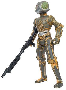 Star Wars The Power of the Force: 4-LOM with Blaster Pistol and Blaster Rifle