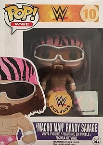 Pop! WWE Vinyl Figure Macho Man Randy Savage (Pink Outfit) #10 WWE Exclusive