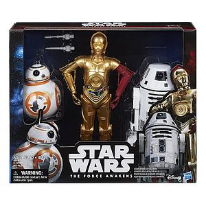 Star Wars The Force Awakens 3-Pack: BB-8, C-3PO, & RO-4LO