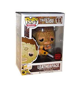 Pop! Movies The Texas Chainsaw Masacre Vinyl Figure Leatherface (Bloody) #11 (Chase)