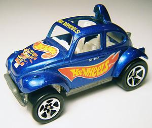 Hot Wheels Race Team Series 2 Cars Die-Cast: Baja Bug