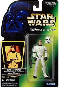 Star Wars The Power of the Force Luke Skywalker in Stormtrooper Disguise with Imperial Issue Blaster