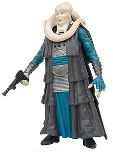 Star Wars The Power of the Force: Bib Fortuna with Hold-Out Blaster