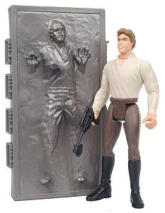 "Star Wars The Power of the Force 3.75"" Action Figure Han Solo in Carbonite with Carbonite Freezing Chamber (Trilingual Package)"