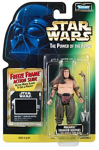 "Star Wars The Power of the Force Freeze Frame 3.75"" Action Figure Malakili (Rancor Keeper) (Trilingual Package)"