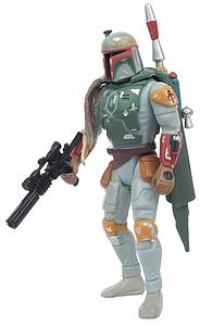 Star Wars The Power of the Force: Boba Fett with Sawed-Off Blaster Rifle and Jet Pack!