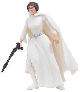 Star Wars The Power of the Force: Princess Leia Organa with Laser Pistol and Assault Rifle!