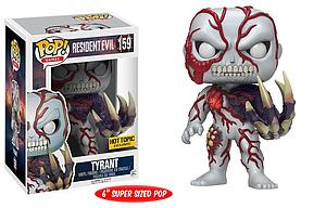 "Pop! Games Resident Evil Vinyl Figure 6"" Tyrant #159 Hot Topic Exclusive"