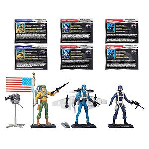 G.I. Joe 50th Anniversary: Chase for the M.A.S.S Device 3-Pack Set