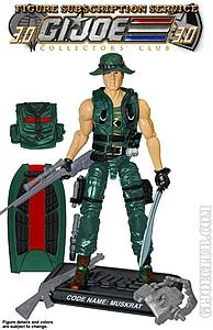 G.I. Joe Swamp Fighter Muskrat Collector Club Exclusive