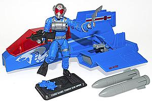 G.I. Joe Cobra Wave Crusher Pilot Cobra Sub Viper Collector Club Exclusive