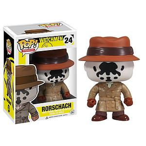 Pop! Movies Watchmen Vinyl Figure Rorschach #24 (Vaulted)