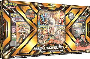 Pokemon Trading Card Game: Mega Camerupt-EX Premium Collection Box