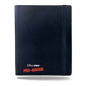 4-Pocket Pro-Binder: Black