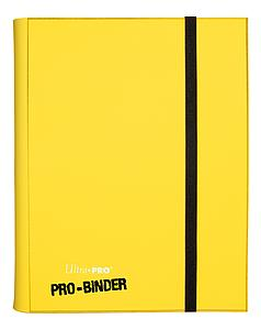 9-Pocket Pro-Binder: Yellow