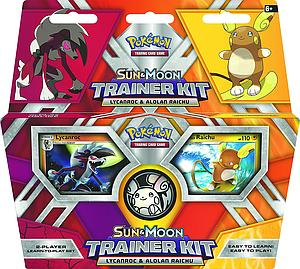 Pokemon Trading Card Game: Sun & Moon Trainer Kit - Lycanroc & Alolan Raichu
