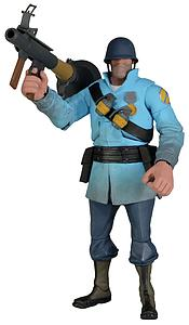 "Valve Team Fortress 2 BLUE 7"" Soldier"