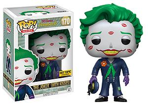 Pop! Heroes DC Bombshells Vinyl Figure The Joker (With Kisses) #170 Hot Topic Exclusive