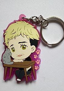 Yuri on Ice Keychain Christophe Giacometti (Rubber)