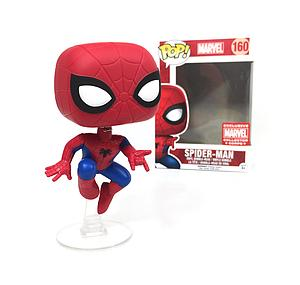 Pop! Marvel Vinyl Bobble-Head Spider-Man (Action Pose) #160 Collector Corps Exclusive