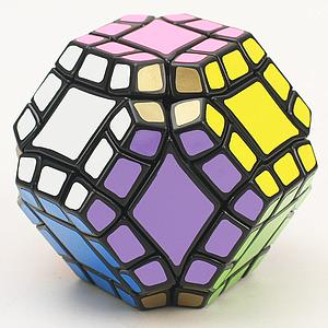 Puzzle Dodecahedron with 12 Axis