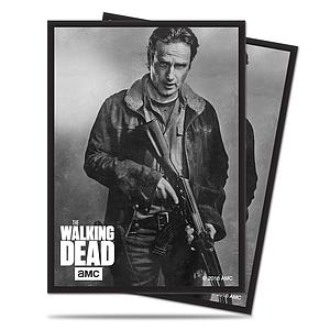 The Walking Dead - Rick Standard Card Sleeves (66mm x 91mm)