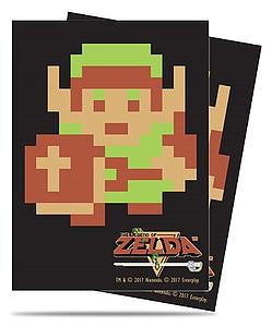 Pro Card Sleeves 65-pack Standard Size: The Legend of Zelda - 8-Bit Link