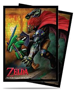 Pro Card Sleeves 65-pack Standard Size: The Legend of Zelda - Link & Gannon