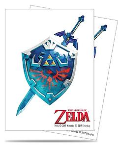 Pro Card Sleeves 65-pack Standard Size: The Legend of Zelda - Sword & Shield