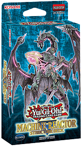 Yugioh Structure Deck Machine Reactor / Dinosmasher's Fury: Machine Reactor Deck