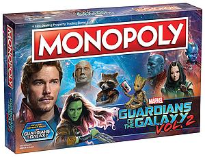 Monopoly: Guardians of the Galaxy 2