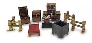 Jazwares Minecraft Papercraft Set: 30pc Utility Pack