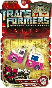 Transformers Revenge of the Fallen Series Deluxe Class Skid & Mudflap
