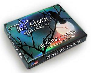 Playing Cards: The Raven Edgar Allan Poe