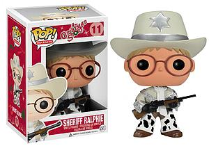 Pop! Holidays A Christmas Story Vinyl Figure Sheriff Ralphie #11 (Vaulted)