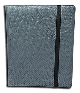 9 Pocket Side Loading Binder: Grey (Dragonhide)