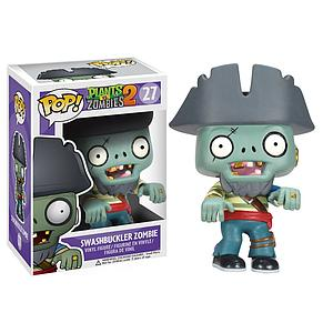 Pop! Games Plants vs Zombies 2 Vinyl Figure Swashbuckler Pirate Zombie #27 (Retired)