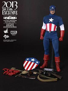 Marvel Captain America: The First Avenger(2011) 1/6 Scale Figure: Captain America (Star Spangled Man Exclusive Version)